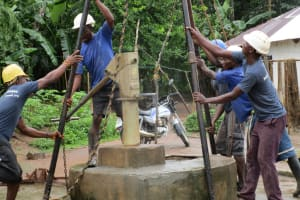 The Water Project: Kafunka Community -  Drilling