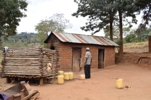 The Water Project: Ilinge Community C -  Janet Mbatha Household