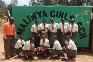 The Water Project: Malinya Girls Secondary School -  School Entrance