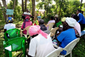 The Water Project: Tsivaka Community, Wefwafwa Spring -  Training