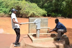 The Water Project: Nzung'u Community C -  Clean Water