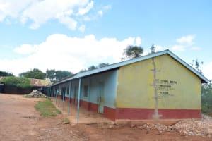 The Water Project: Kyanzasu Primary School -  School Compound