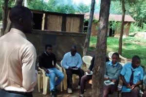 The Water Project: Friends Emanda Secondary School -  Training