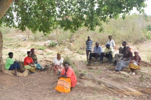 The Water Project: Mitini Community A -  Community Members
