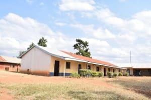 The Water Project: Kyanzasu Secondary School -  School Grounds