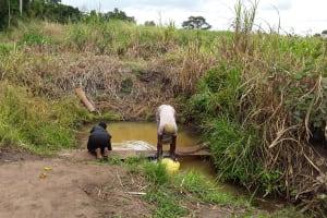 The Water Project: Rubani-Kyawalayi Community -  Fetching Water