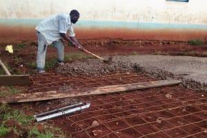 The Water Project: Esibuye Primary School -  Tank Foundation