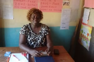 The Water Project: Irenji Primary School -  School Principal