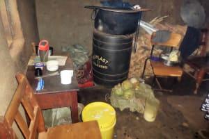 The Water Project: Lureko Girls Secondary School -  School Kitchen