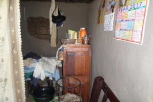 The Water Project: Emusanda Community, Walusia Spring -  Inside A Home