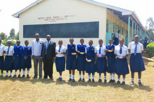 The Water Project: Matete Girls High School -  Students