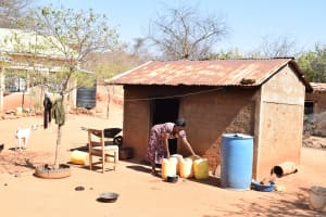 The Water Project: Katuluni Community -  Water Containers