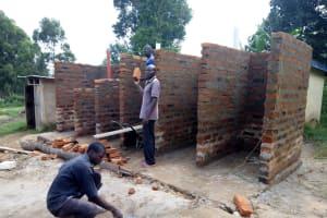 The Water Project: Musunji Primary School -  Latrine Construction