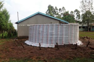 The Water Project: Malaha Primary School -  Tank Construction
