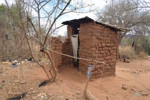 The Water Project: Karuli Community C -  Kimanzi Latrine
