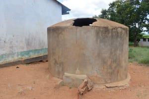 The Water Project: Waita Primary School -  Broken Tank