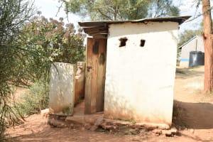 The Water Project: Kyanzasu Secondary School -  Boys Latrines