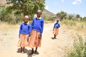 The Water Project: Kivani Primary School -  Girls Latrines
