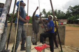 The Water Project: Kitonki Community -  Drilling