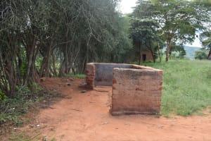 The Water Project: Kyanzasu Primary School -  Boys Urinal