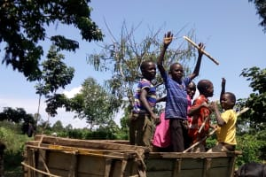 The Water Project: Shivagala Community, Paul Chengoli Spring -  Here To Help