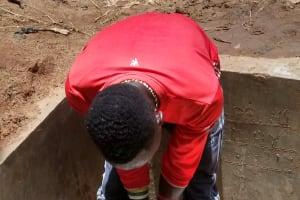 The Water Project: Lugango Community, Lugango Spring -  Hand Washing Demonstration