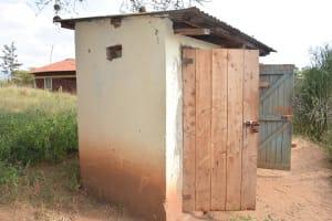 The Water Project: Kyanzasu Secondary School -  Girls Latrines