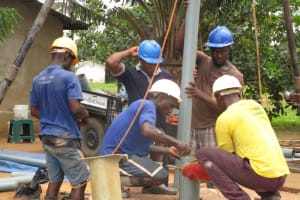 The Water Project: New London, 9 Jalloh Street -  Drilling
