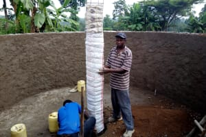 The Water Project: Musunji Primary School -  Tank Construction