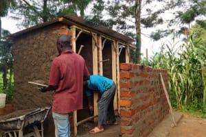 The Water Project: Malaha Primary School -  Latrine Construction