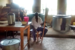 The Water Project: Malinya Girls Secondary School -  Cook In The Kitchen