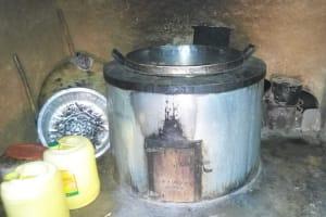 The Water Project: Shanjero Primary School -  School Kitchen