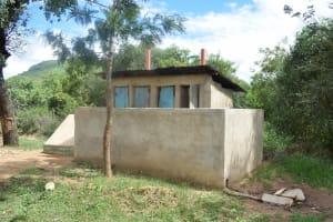 The Water Project: Kwa Kaleli Primary School -  Boys Latrines