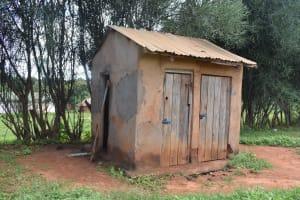 The Water Project: Kyanzasu Primary School -  Boys Latrines