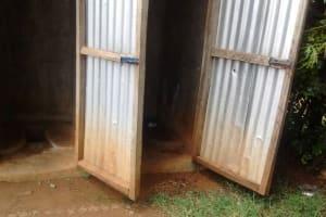 The Water Project: Mwitoti Secondary School -  Latrines