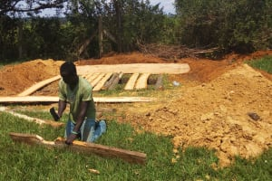 The Water Project: Mumias Central Primary School -  Latrine Construction