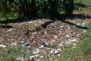 The Water Project: Gidagadi Primary School -  Garbage Site