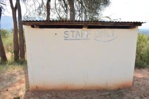 The Water Project: Kyanzasu Secondary School -  Staff Latrines