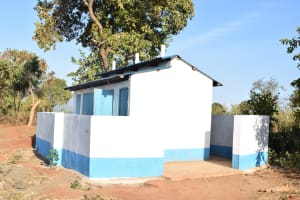 The Water Project: Kithaasyu Secondary School -  Girls Latrines