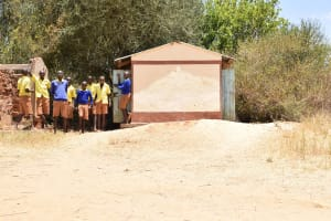 The Water Project: Kivani Primary School -  Boys Latrines