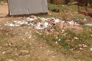 The Water Project: Malinya Girls Secondary School -  Garbage Pile