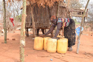 The Water Project: Karuli Community C -  David Household