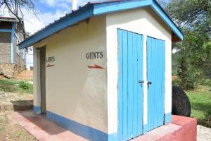 The Water Project: Kwa Kaleli Primary School -  Staff Latrines
