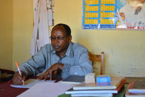 The Water Project: Matheani Secondary School -  Headteacher Richard Mutua
