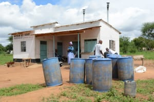 The Water Project: Matheani Secondary School -  Water Storage