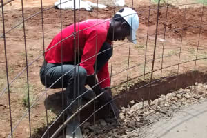 The Water Project: Friends Emanda Secondary School -  Wall Fortification