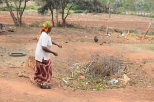 The Water Project: Mitini Community A -  Compost Pit