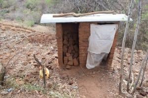 The Water Project: Kithumba Community A -  Latrine