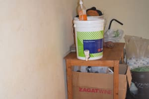 The Water Project: Kyanzasu Secondary School -  Hand Washing Station