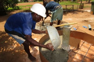 The Water Project: New London, 9 Jalloh Street -  New Well Cover